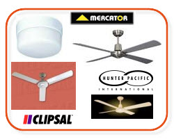 Ceiling Fan - Clipsal Ceiling Fans - Airflow Ceiling Fans